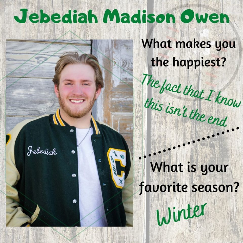 Jebediah Madison Owen Senior Highlight