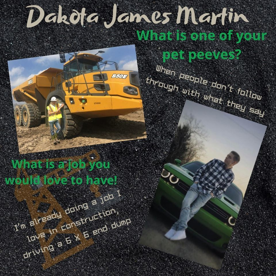 Dakota James Martin Senior Highlight