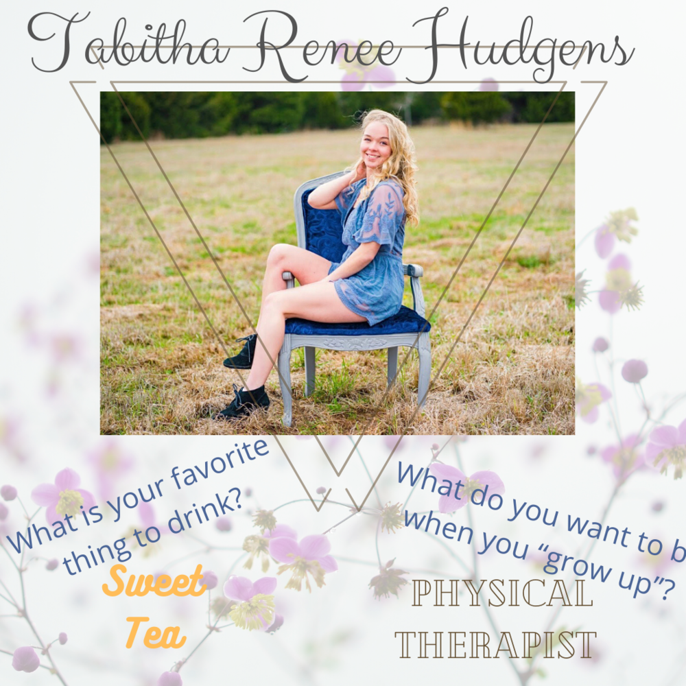 Tabitha Renee Hudgens Senior Highlight