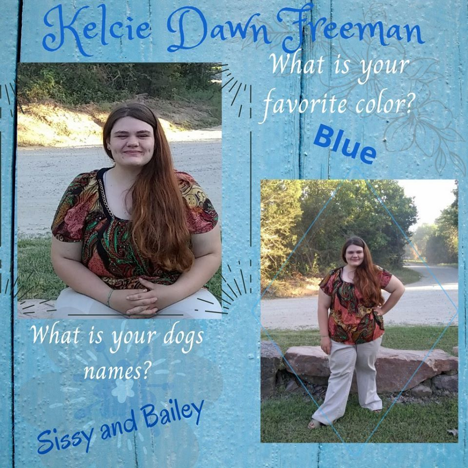 Kelcie Dawn Freeman Senior Highlight