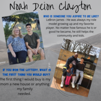 Noah Deion Clayton Senior Highlight