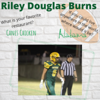Riley Douglas Burns Senior Highlight