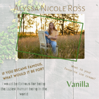 Alyssa Nicole Ross Senior Highlight